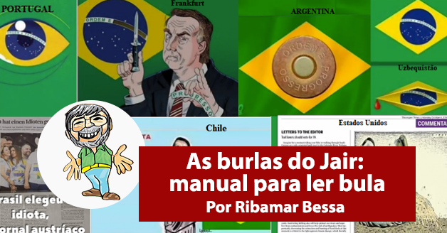 As burlas do Jair: manual para ler bula
